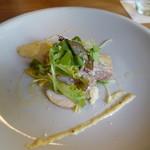 リストランテ ヒルノ - 料理写真:豚バラコンフィハムのサラダ仕立て