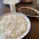 115920435 - 【2019.8.31】カシミールカレー+飲むヨーグルト100円