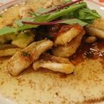 レストラン クレール - イカのシシリー風_(:3 」∠)_