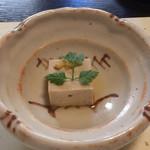 神楽家 - 胡桃豆腐