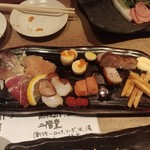 焼き鳥×燻製×日本酒 kmuri-ya - 燻製盛り合わせ
