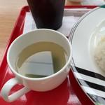 燃料電池カフェ E-FEEL - わかめスープ