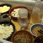 おとうふ湯葉いしかわ - 豆腐バー 料理をアップ撮影