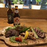 yakeichi-zunikubaruga-den - 肉盛り合わせ3種