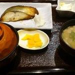 ニユートーキヨー 庄屋 - 焼き魚定食