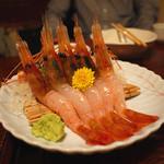 平家 - ボタン海老の刺身