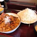 とんたん - 豚丼セット(竹)