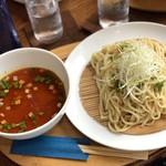 115931642 - 勝浦タンタン麺 つけ麺