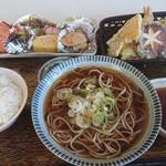 暖笑 - 料理写真:そば定食 1,380円(税込)