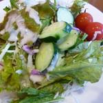 レストラン&バー ベルマルシェ - 野菜を食べるのだ