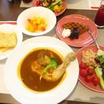 Cafe Contrail - グルメクルージングランチ 1600円(税込)【2019年9月】