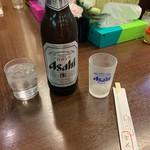 ひれとんかつの店 とん文 - 瓶ビール(大)