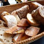 欧風小皿料理 沢村 - 熟成酵母パン