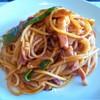クレッシェレ - 料理写真:甘エビからの出汁のパスタ ナポリタン