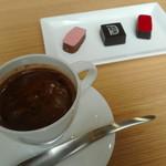 115946509 - ホットチョコレートとショコラ