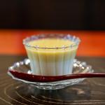 わらび野 - 2019.9 開田高原の卵の茶碗蒸し 開田高原トウモロコシのすり流し