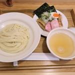 麺屋さくら - 太刀魚煮干し塩つけ麺 葛粉麺バージョン