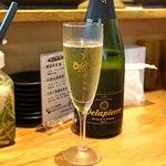 天ぷらとワイン 小島 - Cava Delapierre Brut