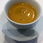 リストランテ プリマヴェーラ - カボチャの冷製スープ