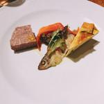 TENOHA&STYLE RESTAURANT - 前菜の盛り合わせ。