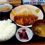 日本亭 - ささみチーズカツ定食 750円