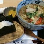 蟻の塔 - 煮麺とおむすび(具は選べます)