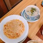壱番館 - 炒飯&クリームシチュー  各250円
