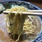 関西 風来軒 - 麺は「かため」を選択