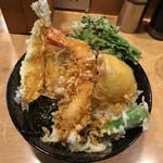 天丼ふじ - 天丼 800円