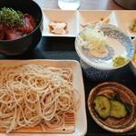 さかい - 料理写真:マグロ漬け丼セット    1,000円