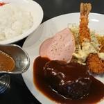 びわこキッチン - 料理写真:オリジナルプレートのスペシャル+カレールウ
