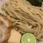 山麺 - 麺アップ