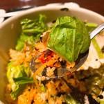 KOREAN DINING 長寿韓酒房 - 今日はサラダビビンバにしました。