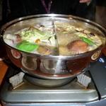 天香回味 東銀座店 - 天香回味鍋・タモギ茸コース
