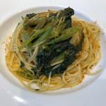 リストランテ プリマヴェーラ - 空芯菜とカラスミのスパゲッティーニ