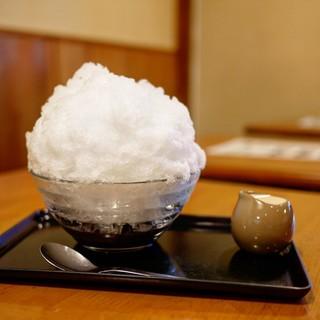 甘味処 相生 - 料理写真:■氷しるこ 650円
