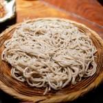 紗羅餐 - ■桜海老かき揚げと二八蕎麦 1580円