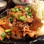 フルミチ  - 豚皿