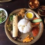 115975710 - ネパールローカル料理セット