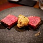 イル アオヤマ - ☆フィレ肉と鹿肉