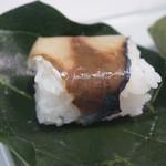 115977731 - 鯖の柿の葉寿司