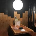 鳥貴族 - こちら、テーブル席(2019.9.21)