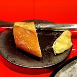 115992744 - 自家製パンと釧路産バター、イギリスの岩塩