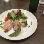 ビストロ・ラ・カシェット - 前菜盛り合わせ