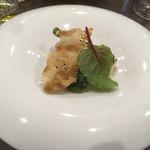 ビストロ・ラ・カシェット - 鰆のポワレ ナッツクリームソース