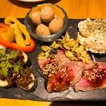 肉バル brother - 前菜盛り合わせ5種