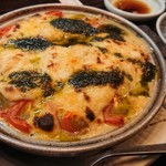 楽食家たちかわ - 完熟トマトのチーズ焼 780円(税別)