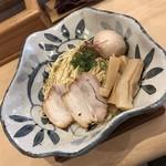 115999132 - 煮卵サンマまぶし麺 900円(+極太メンマ 三本 70円)
