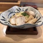 115999133 - 煮卵サンマまぶし麺 900円(+極太メンマ 三本 70円)