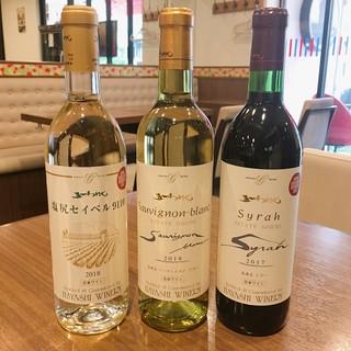 ソムリエのオススメワインを是非!今月は癒しの長野ワイン!
